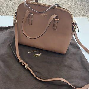 LIKE NEW brown Kate Spade bag